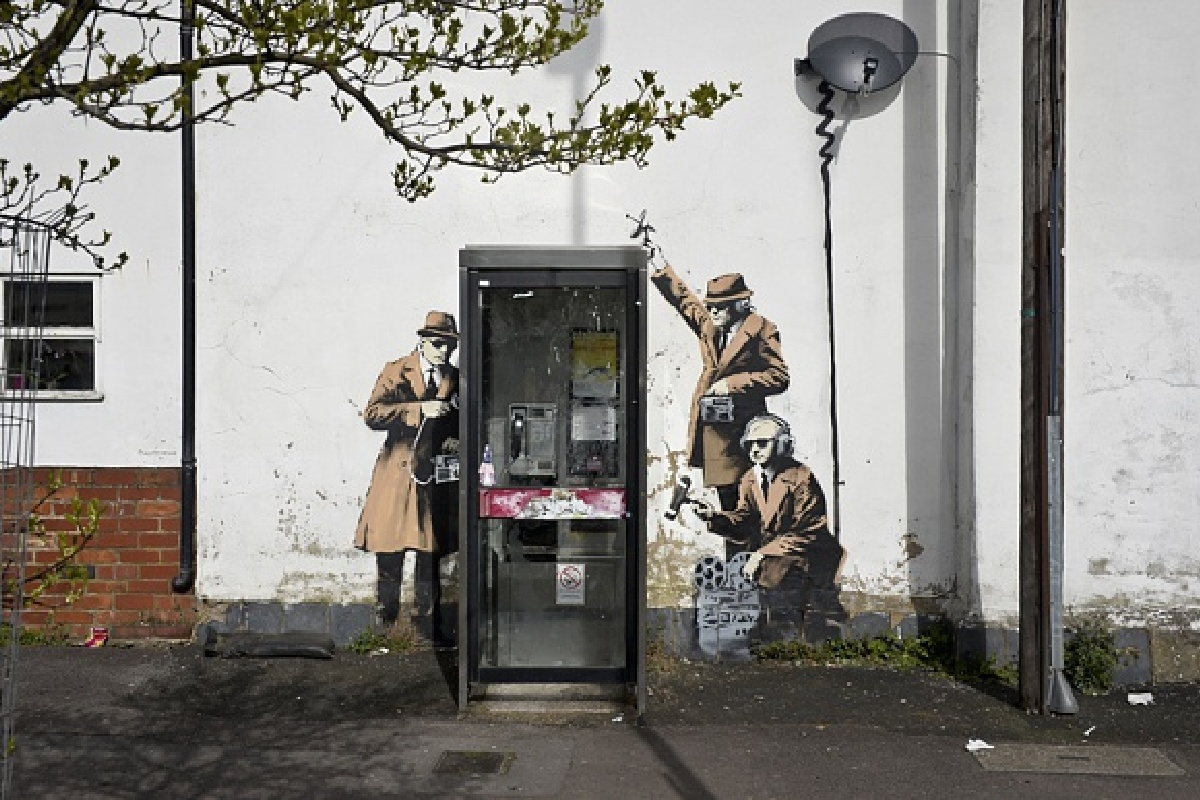 Banksy mural worth 1 million british pounds destroyed