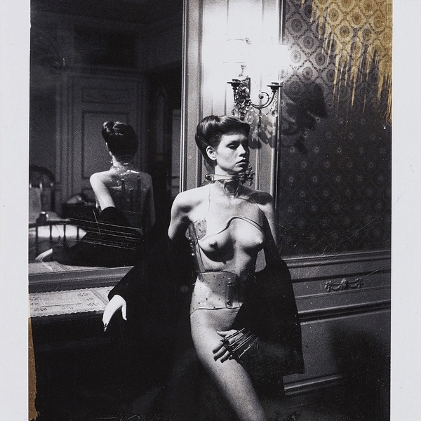 Helmut Newton - Jane Kirby, Paris, 1977